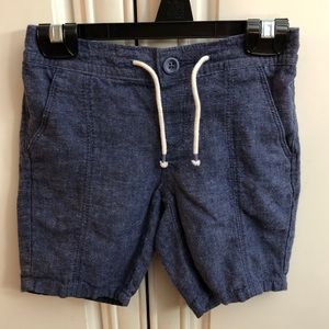 🌟 2/$20 Gap boys cozy chambray shorts